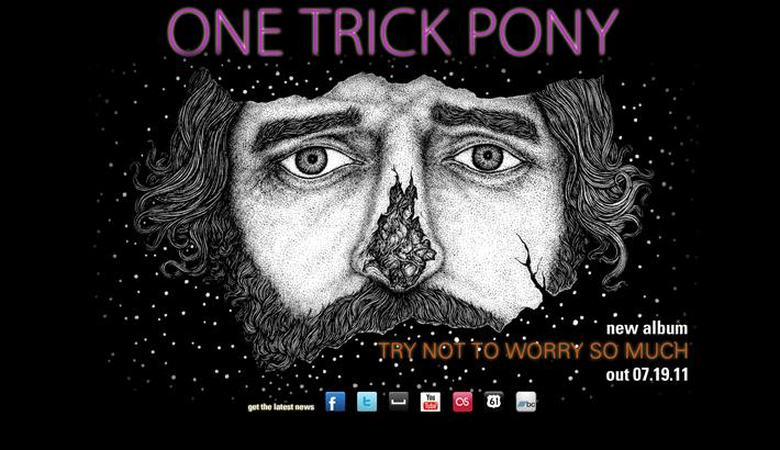 One trick pony  слушать  все песни на